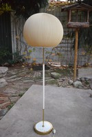 Retro régi német beltéri álló lámpa , hangulat lámpa 135 cm működőképes