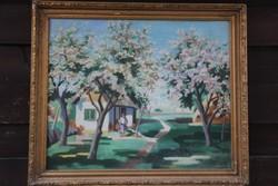 Sziklay Dezső - Virágzó fák