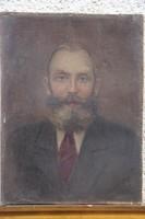 Mednyánszky László - Férfi portré