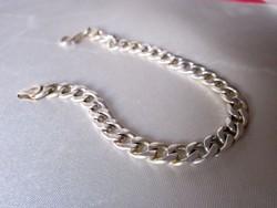 Ezüst  karkötő 17,5 gr 20,5 cm