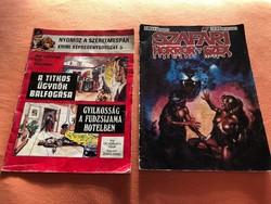 2 db képregény az 1980-as évekből