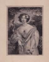 JOHANN NEPOMUK ENDER 1793-1854 METSZET