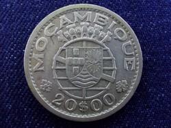 Portugál Mozambik ezüst 20 Eszkúdó 1955
