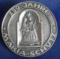 Maria Schutz (Mária Oltalma) kitüző Souval Wien 7 gyártmányú mérete:30mm,biztosító tüvel rögzíthetö