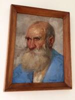 Tornai Gyula - Öreg férfi portréja
