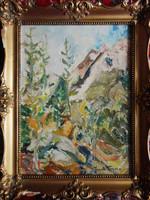 Frank Frigyes eredeti festménye - várom ajánlatát