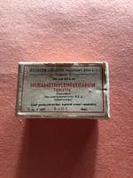 Richter Gedeon papír gyógyszeres dobozka