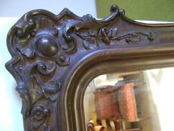Gyönyörű tükör az 1860-as évekből (76 x 113 cm)