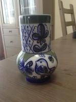 Régi Orosz Lomonoszov porcelán kis váza