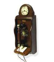Órás fali nosztalgia telefon