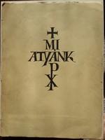 Mi Atyánk Dallos Hanna 10 eredeti fametszet A Király. M.Egyetemi Nyomda Budapest mérete:29cmX39cm