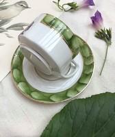 Ritka Fraureuth porcelán teás szett (1891-1934) hibátlan