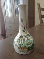 Kézzel festett angol porcelán KOWLOON VÁZA