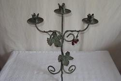Candlestick - antique - metal 40 x 29 cm