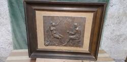 Bronz plakett