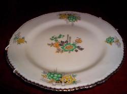 25 cm átm angol porcelán  falidísz, dísztál, süteményes