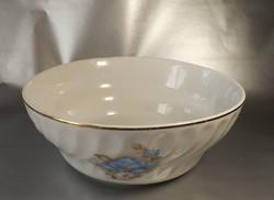Köretes tál Apullum porcelán