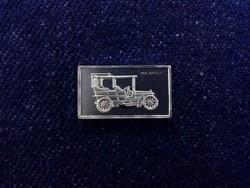Napier 1905 autós ezüst lapka