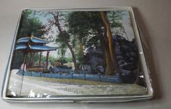 Retró fénykép album vászon kötésben