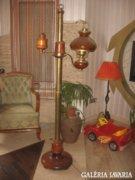 Ritka , régi , látványos állólámpa , állítható