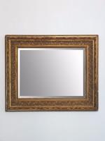 Gyönyörűen díszített hatalmas antik tükör