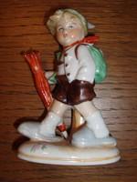 Kisméretű, német porcelán figura