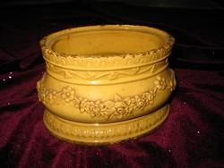 Szép,antik .  asztal közép  14x 10 cm  , jelzett