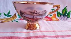 Kávés csésze Tegernsee felirattal és tájképpel