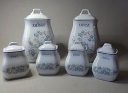 Porcelán fűszertartók