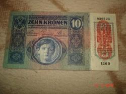 10 Korona-Magyar bélyegző