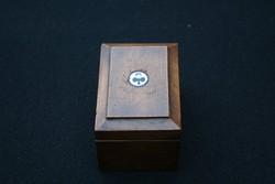 Mini kártyatartó dobozka