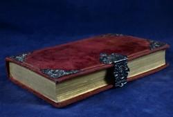 RITKA, ANTIK, EZÜST DÍSZÍTÉSES BIBLIA, MÜNCHEN 1847!!!