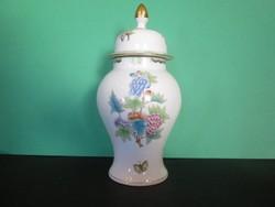 Herendi viktória mintás urna váza
