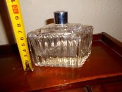 Antik   illatszeres üveg-nehéz darab