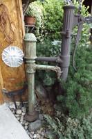 Ritka Antik Kastély kút 1880 ból Öntöttvas Szecessziós HIBÁTLAN