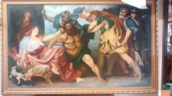 Másolat Anthony van Dyck - Sámson és Delila festményéről