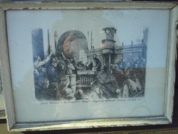 Rézkarc Kossuth Lajos 1849 debreceni ....