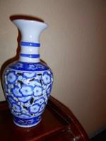 Kínai áttört falu porcelán váza