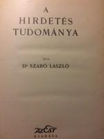 Szabó: A hirdetés tudománya / Est lapok cc.1935