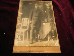 Magyar baka fotója / nem képeslap  / az 1914 es évekből   10,5x16,5 cm