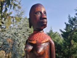 Negro female bust