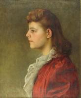 Burján László : Női portré 1939