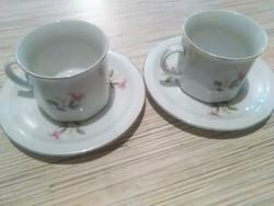 Chinai teás csésze kistányéral