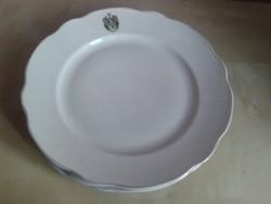 Zsolnay címeres tányérok, 3 db