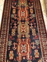 Kézicsozás Meshkin Nomád Perzsa Szőnyeg 135x325