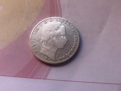 """1859""""B"""" ezüst 1 Florin ,Ritkább"""