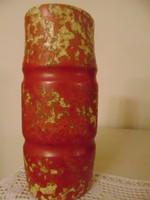 Retro kerámia váza,22 cm