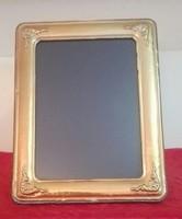 Aranyozott 925-ös ezüst asztali képkeret
