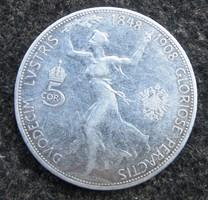 Ezüst 5 korona 1908 Ferenc József
