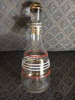 Retro üveg butélia, dugóval